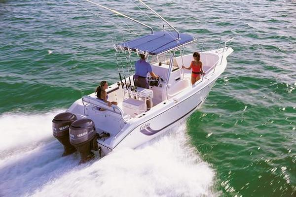 Used Cobia 254 Center Console Saltwater Fishing Boat For Sale
