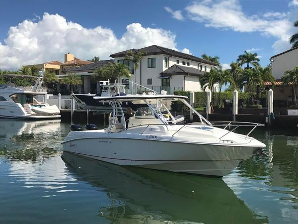 Used Boston Whaler 320 Outrage Cuddy Cabin Saltwater Fishing Boat For Sale