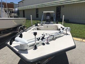 Used Pathfinder 15 Tunnel Flats Fishing Boat For Sale