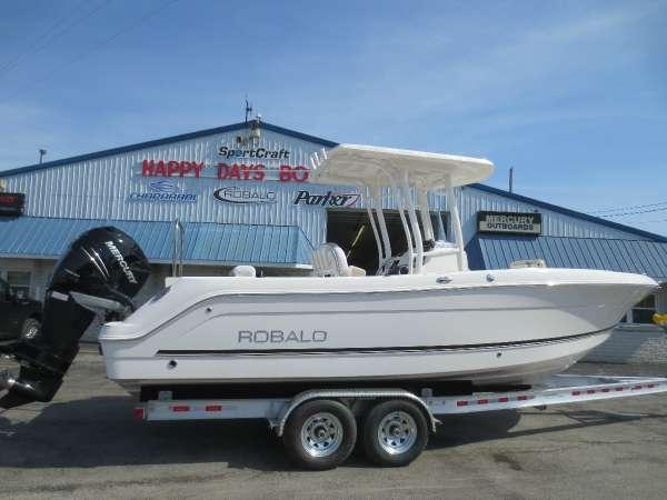 2018 new robalo r242 center console fishing boat for sale for Fishing boats for sale in ohio