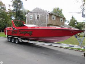 Used Fountain 10 meter Executioner High Performance Boat For Sale