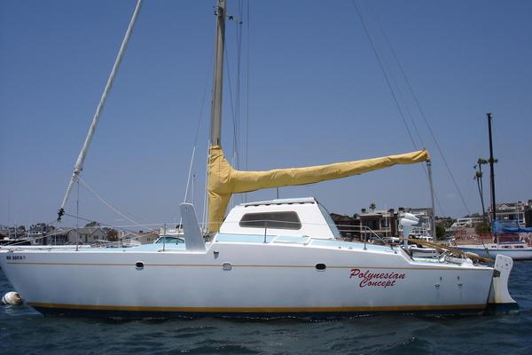 Used Csk 35 Catamaran Sailboat For Sale