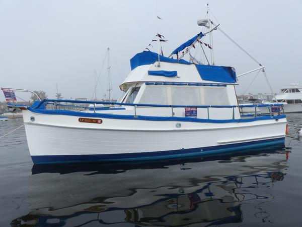 Used Grand Banks 32 Trawler Boat For Sale