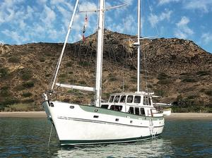 Used Cheoy Lee Motorsailer Sailboat For Sale