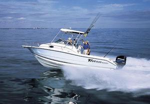 Used Triton 2486 WA Dive Boat For Sale
