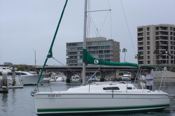 Used Hunter 27 Electric Racer and Cruiser Sailboat For Sale