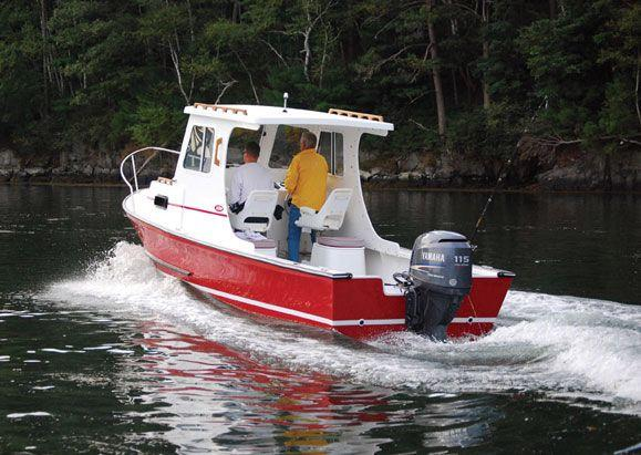 New Eastern 22 Lobsterfisherman Cuddy Cabin Boat For Sale