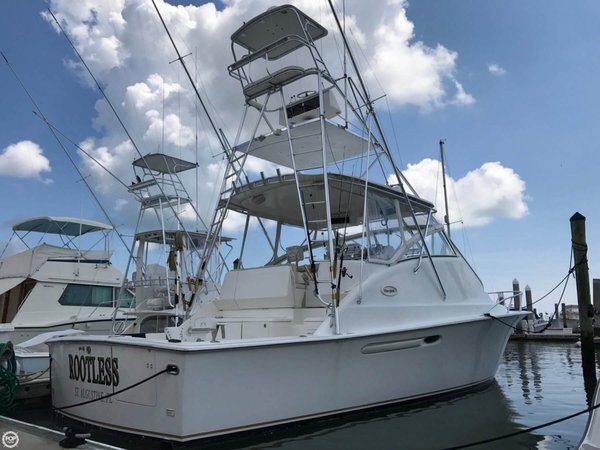 Used Ocean Express Tower Sports Fishing Boat For Sale