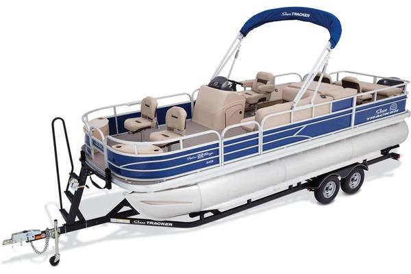 New Sun Tracker Fishin' Barge 22 XP3 Pontoon Boat For Sale