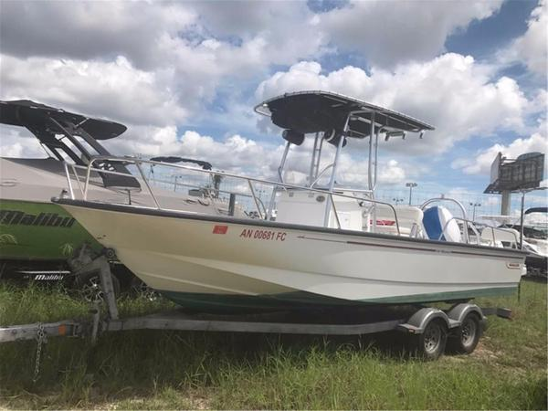 Used Boston Whaler Montauk 210 Saltwater Fishing Boat For Sale