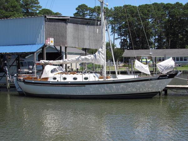 Used Saltram Saga 36 Cruiser Sailboat For Sale