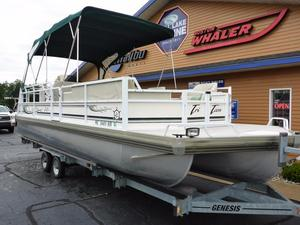 Used Jc Tritoon 266 I/O Tritoon Pontoon Boat For Sale