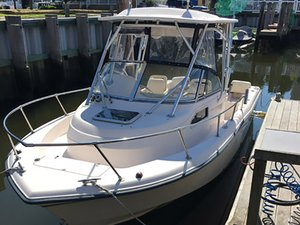 Used Grady White Seafarer Walkaround Fishing Boat For Sale