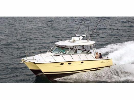 Used Glacier Bay 3470 Ocean Runner Sports Fishing Boat For Sale