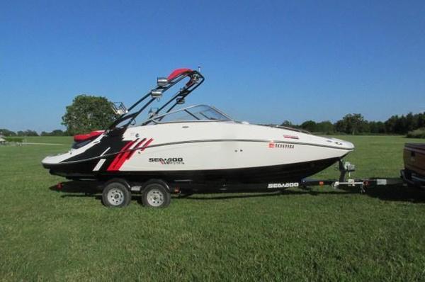 Used 2012 Sea Doo Wake 230 Ski and Wakeboard Boat For Sale
