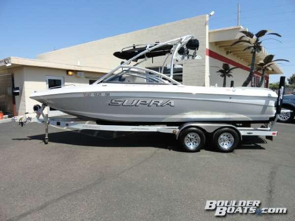 Used Supra Sunsport 22 V Ski and Wakeboard Boat For Sale