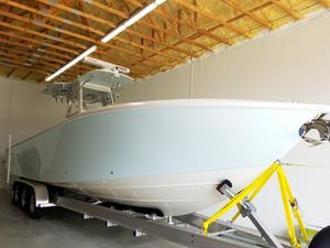 Used Sea Vee 340 Saltwater Fishing Boat For Sale