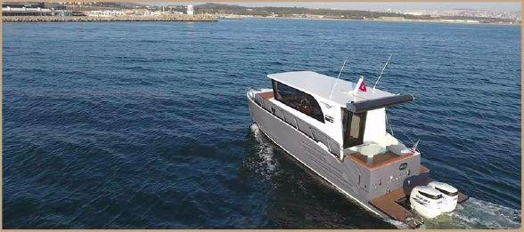 New Custom Bora&as Yacht Aluminum 33ft Sword Motor Yacht For Sale