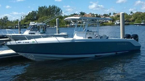 Used Donzi ZFC Pontoon Boat For Sale