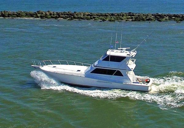 Used Viking 58 Enclosed Bridge Convertible Fishing Boat For Sale