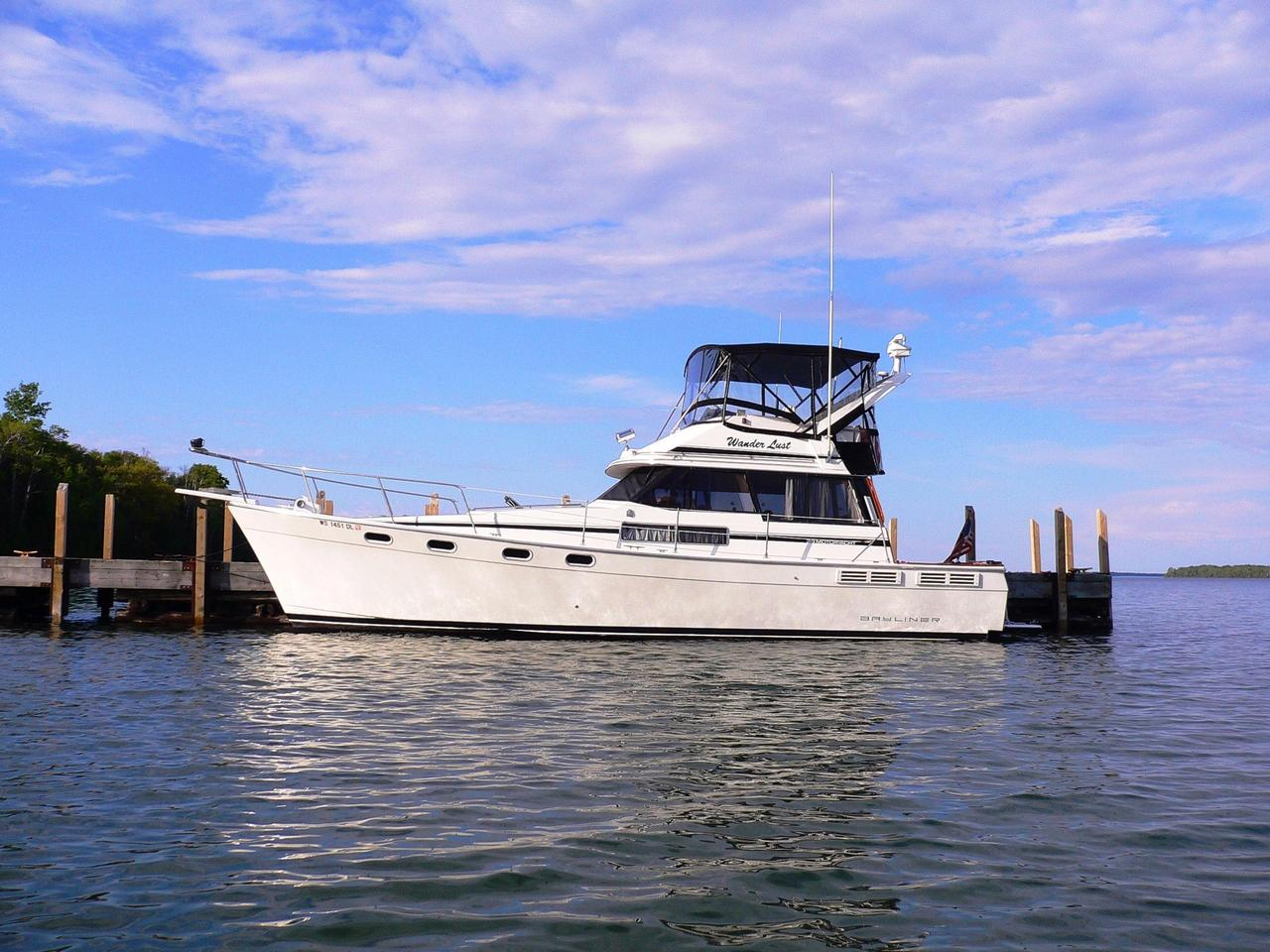 1991 used bayliner 3888 motoryacht motor yacht for sale for Used motor yacht for sale