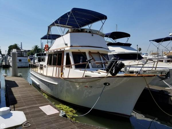Used Chien Hwa 35 Trawler Boat For Sale