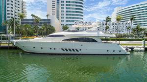 Used Dominator 86S Flybridge Boat For Sale