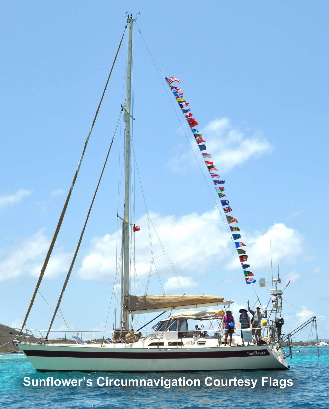 1983 Used Norseman 447 CC Cutter Cruiser Sailboat For Sale