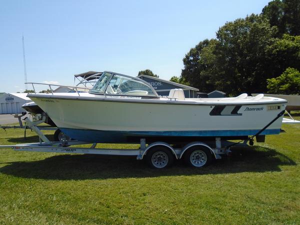 Used Shamrock 220 Renegade Saltwater Fishing Boat For Sale
