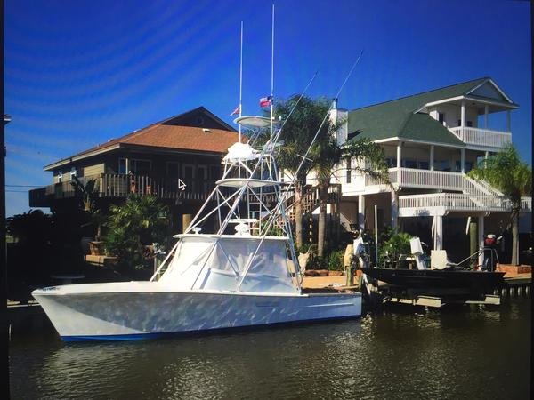 Used Gamefisherman Express Flybridge Boat For Sale