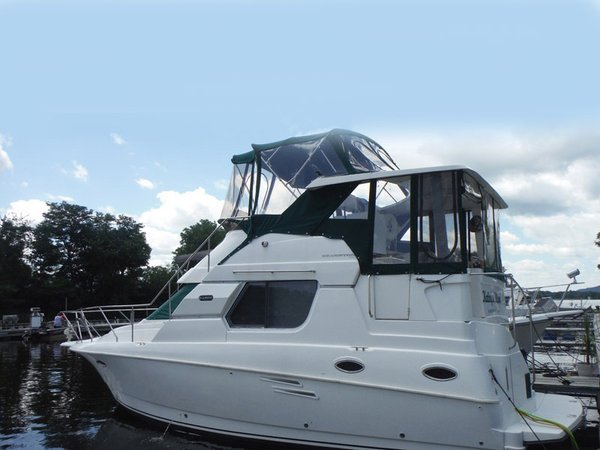 Used Silverton 322 Sidewalk Aft Cabin Boat For Sale