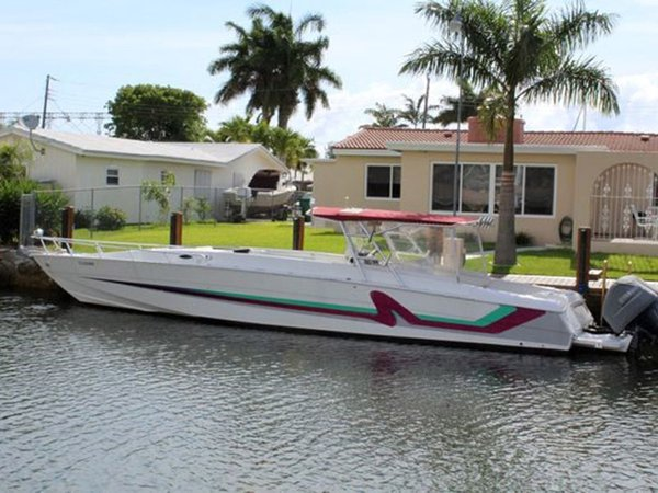 Used Corsa Custom Cuddy Cabin Boat For Sale