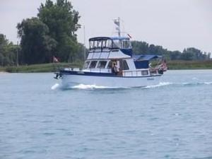 Used Vinette Long Range Steel Trawler Boat For Sale