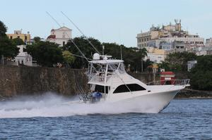 Used Cabo Yachts 47 Flybridge Convertible Fishing Boat For Sale