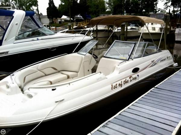Used Starcraft 2410 Limited Coastal Deck Boat For Sale