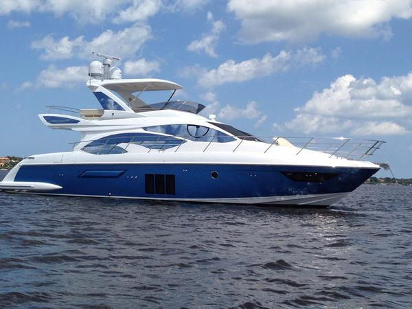 Used Azimut 54 Seakeepers Sports Cruiser Boat For Sale
