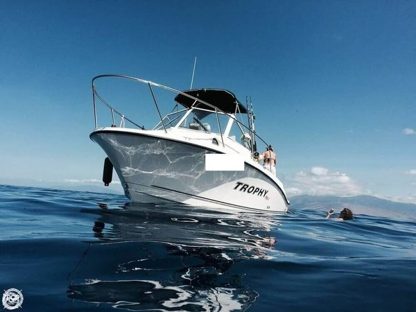 Used Trophy Pro 1952 Walkaround Fishing Boat For Sale