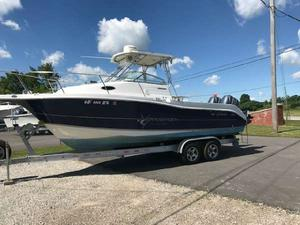 Used Striper 2601 Seaswirl 50th Anniversary Edition Walkaround Fishing Boat For Sale
