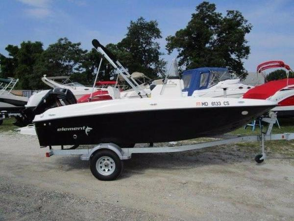 Used Bayliner Element F18 Center Console Fishing Boat For Sale
