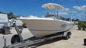 Used Sea Hunt 232 Center Console Fishing Boat For Sale