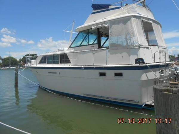 Used Hatteras 43 Double Cabin Aft Cabin Boat For Sale