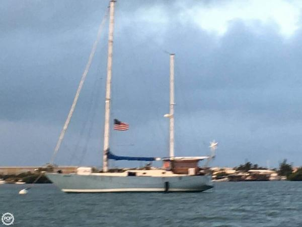 Used Bruce Roberts 45 Ketch Sailboat For Sale