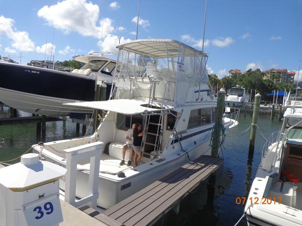Used Bertram 38iii Convertible Sports Fishing Boat For Sale