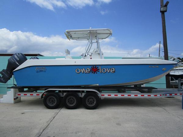Used Manta Ray Power Catamaran Boat For Sale