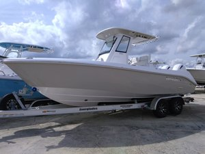 New Everglades Boats 255cc Center Console Fishing Boat For Sale