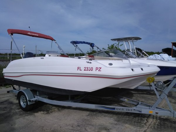 Used Hurricane SSR 188 OB Deck Boat For Sale