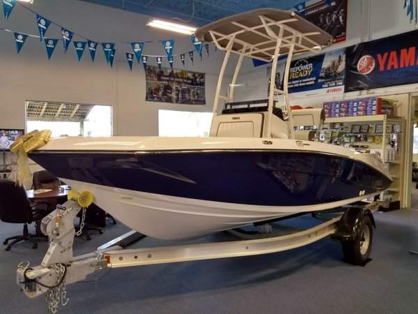 New Yamaha 190 FSH Sport Center Console Fishing Boat For Sale