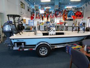 New Maverick Mirage 17 HPX-V Flats Fishing Boat For Sale