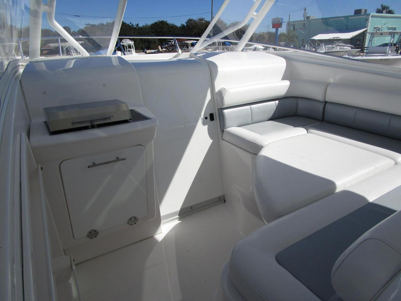 2013 Used Everglades Boats Cabin 350 Lx Center Console