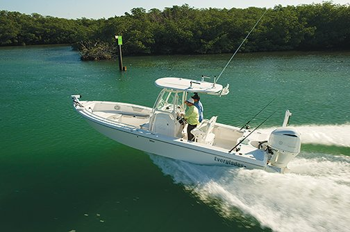 New Everglades Boats 243CC Center Console Fishing Boat For Sale
